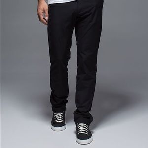Lululemon men's ABC pants black